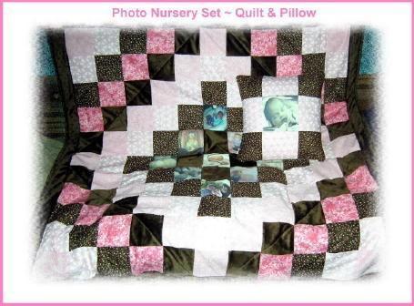 Baby Quilt & Pillow Nursery Set