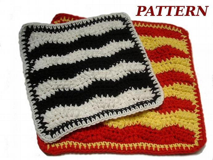 DYI Crochet Dishcloth