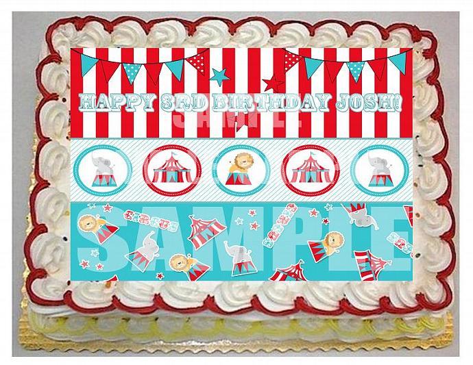 Cute Boy Circus Theme 14 sheet by EyeCandeyCreativeDesigns on