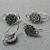 Designer Hook Earwires- antique silver