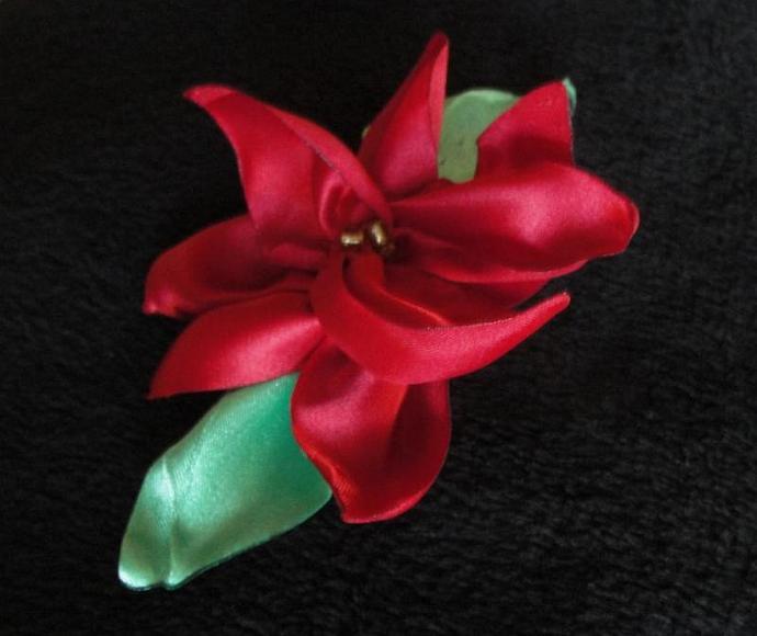 Poinsettia Flower Accessory