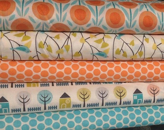 Cloud 9 Organic Fabric - Bundle -  half yard each