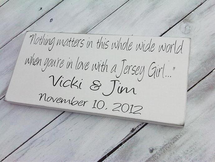 Customized sign, 6x12 Gift, Wedding, Nursery decor Baby Girl , Baby Boy,