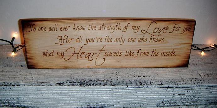 Rustic Country Wedding Sign - DESIGN YOUR OWN - Any 6x18 Wood Burned sign in my