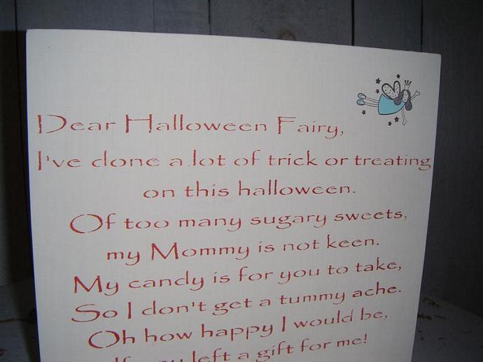 "HALLOWEEN Decoration, Trick or Treat Sign, Halloween Keepsake, ""I've done a lot"