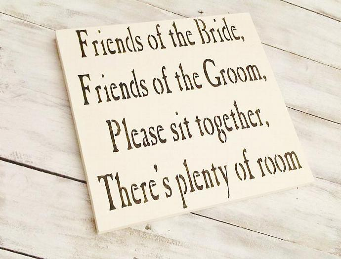 Wedding seating sign STAKE ONLY to ADD to your seating sign - Add this stake to