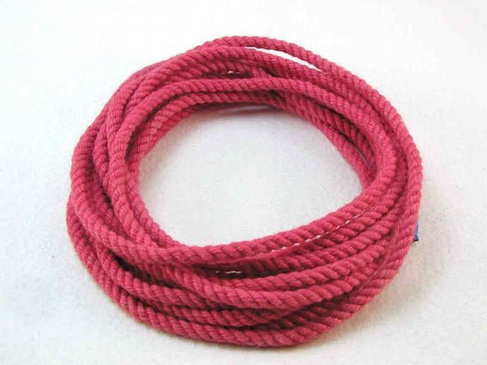 hand dyed cotton cord rope bracelet kits DIY kits bracelet materials supplies