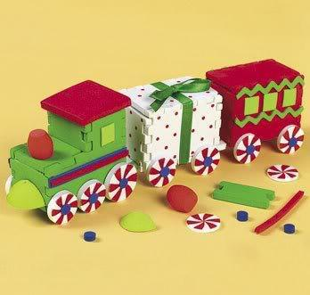 3d foam christmas train christmas craft by for Foam sheet christmas crafts