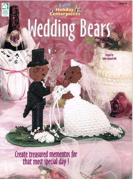 Wedding Bears Plastic Canvas Pattern Book