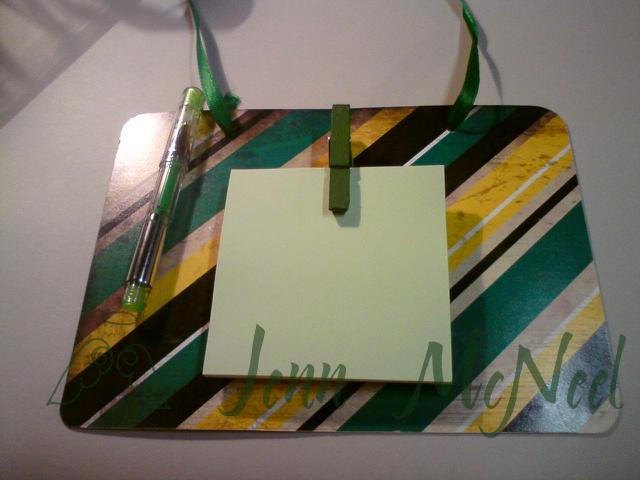 Green School Magnetic Board