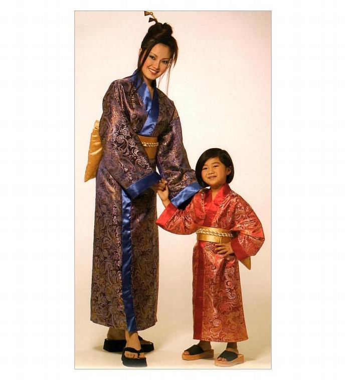 Mom And Me Japanese Kimono Costume By Timelessmanepatterns On Zibbet