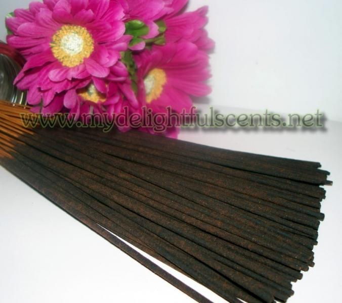 Egyptian musk  30 HANDDIPPED INCENSE STICKS