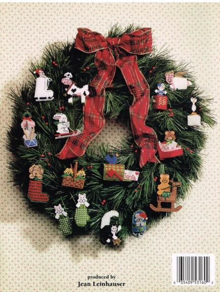 Plastic Canvas Teeny Christmas Ornaments Pattern Book