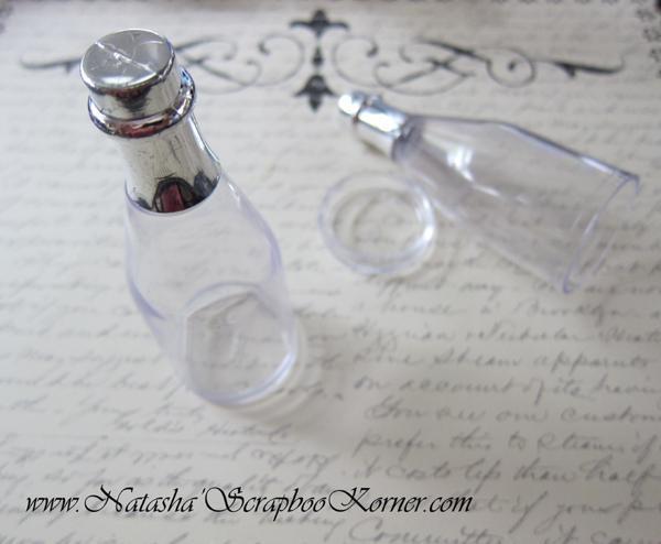 Message Bottle - Clear