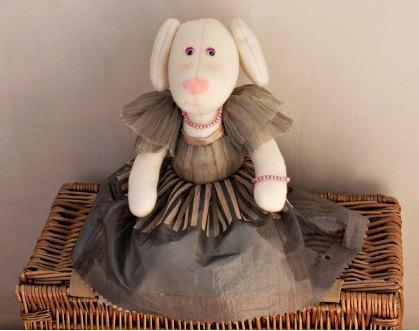 """Doll toy """"Dog Matilda"""""""