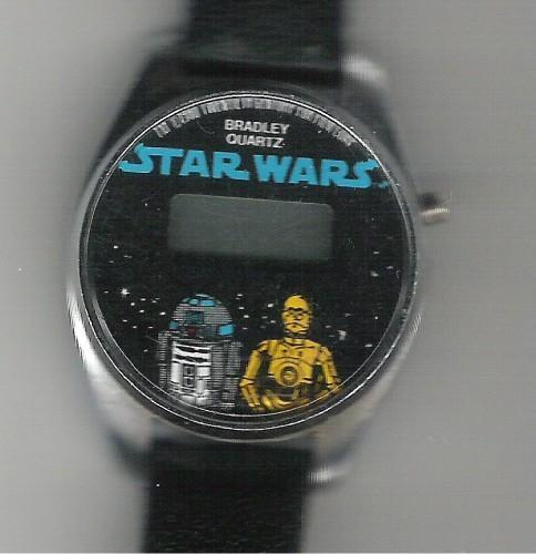 C-3PO AND R2-D Bradley Quartz Time Watch Leather Band