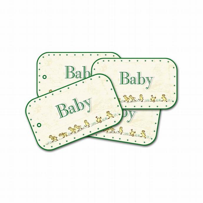 Baby Duck Gift Tags, Baby Shower Tags, New Baby