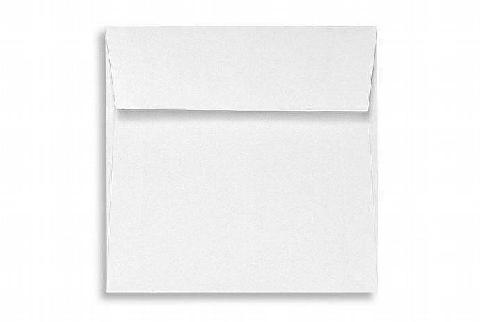 6 1/2 x 6 1/2 Square Envelopes  70lb. Bright White (250) Square Flap