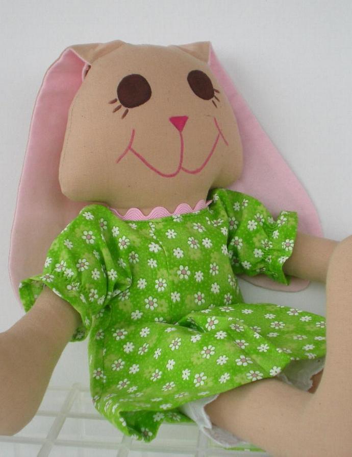 Daisy Stuffed  Rabbit