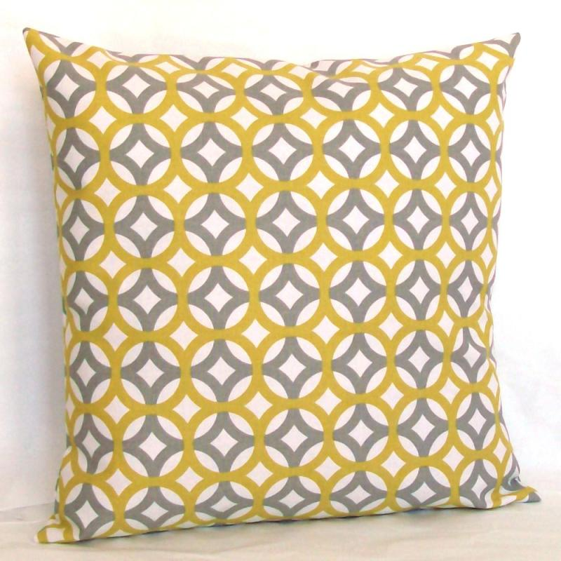Designer Grey Citrine Pillow Cover By FinessePillows On Zibbet Amazing Fretwork Decorative Pillow