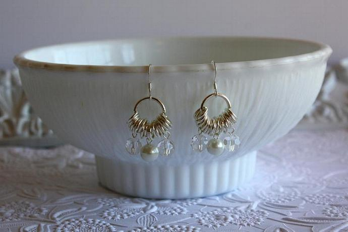 Bridesmaid Gift Wedding Earrings Wedding By Dreamdaydesigns On Zibbet