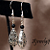 Elegance in black Earrings 10045