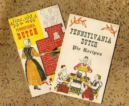 Pennsylvania Dutch Pies and Cakes 1963 Vintage Recipe Booklets