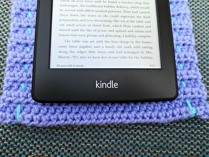 Cover for Kindle - Purple and Aqua