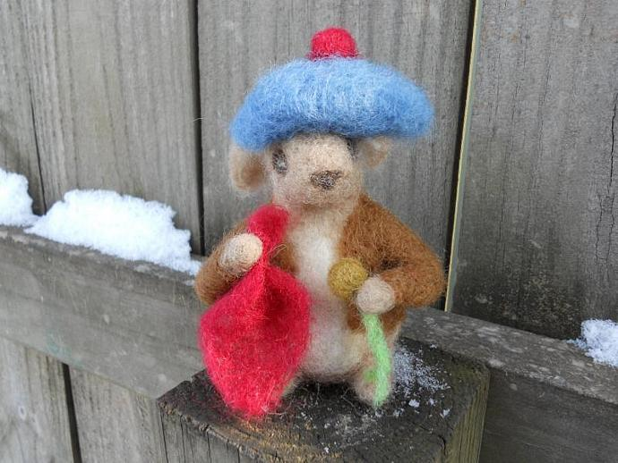 Benjamin Bunny Needle Felted Art Doll   by FoxWoolDesigns on Zibbet ebe7254a945