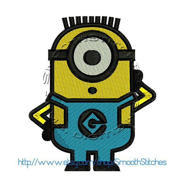 One Eye Minion Design for Embroidery Machines
