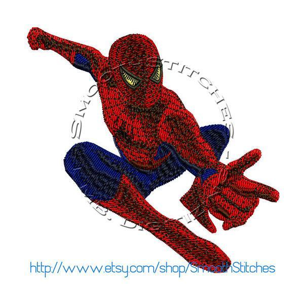 Spiderman Design for Embroidery Machines