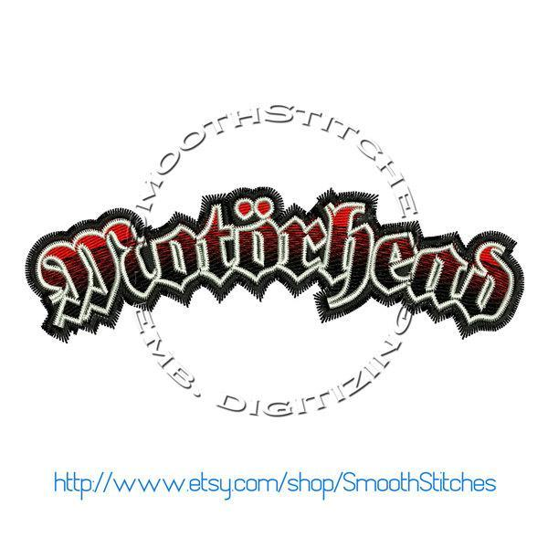 Motorhead Design for Embroidery Machines. Size 5x7.  Instant Download