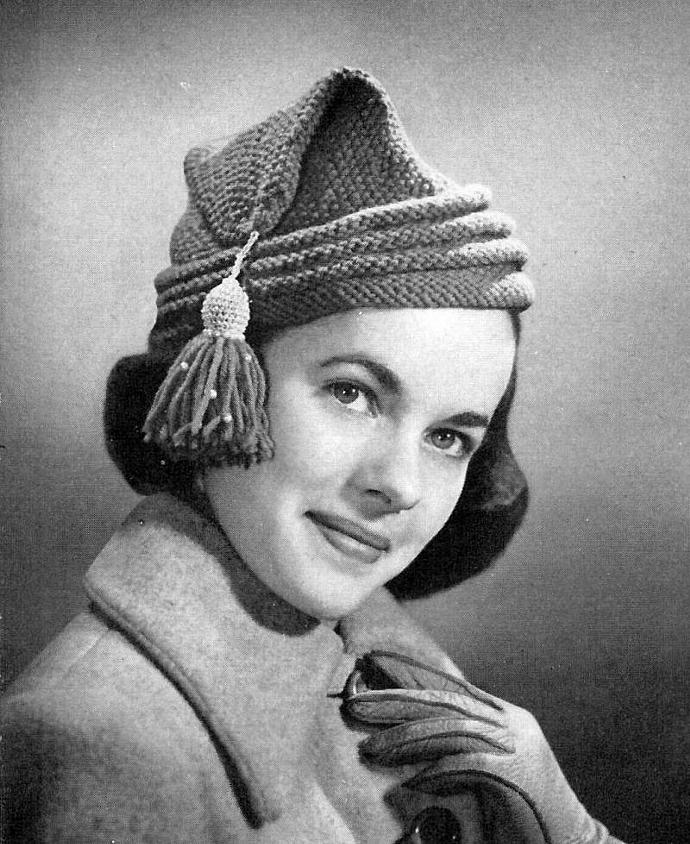 Womens Lhabitant Cap Knitting By Sandrascardandcraftshop On