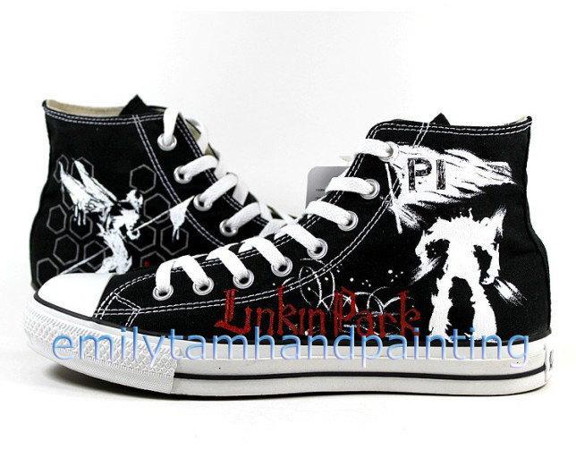 683a5ec9cf2c78 Linkin Park Converse Shoes Custom