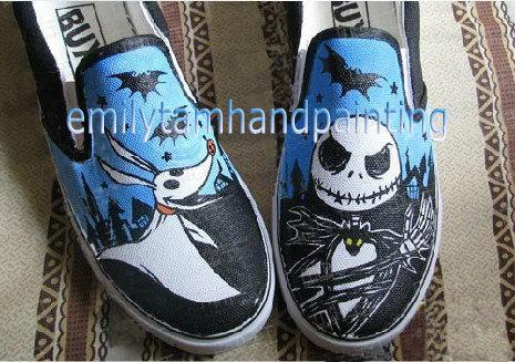 0855f2e7a9e7b1 Nightmare Before Christmas Converse Jack