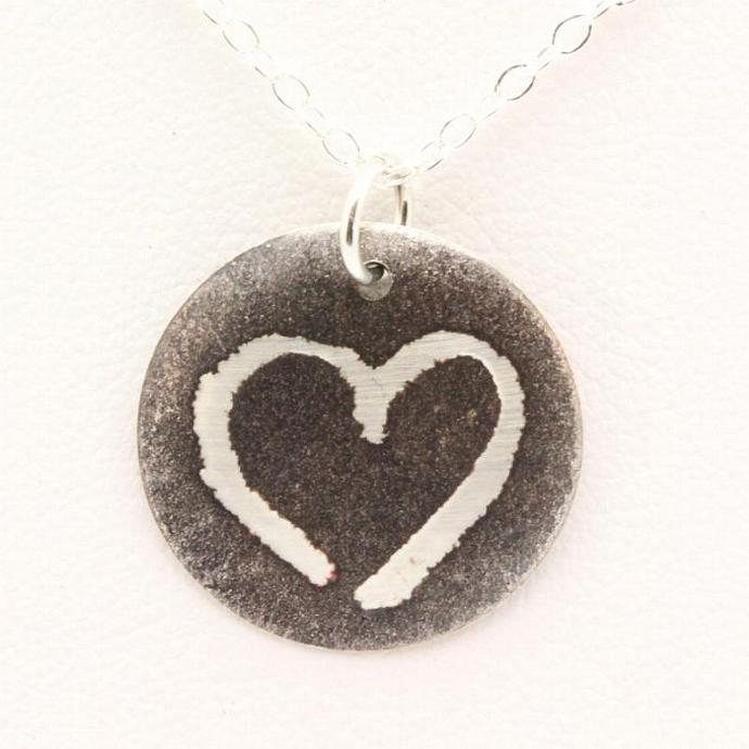 Sterling Silver Limited Edition Acts of Love Necklace