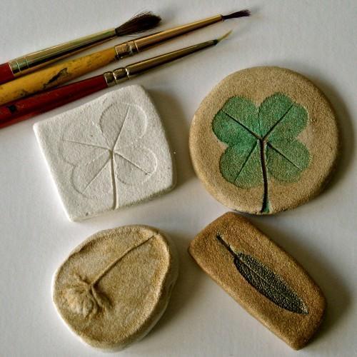 "Handcrafted Pin - ""Cedar"""