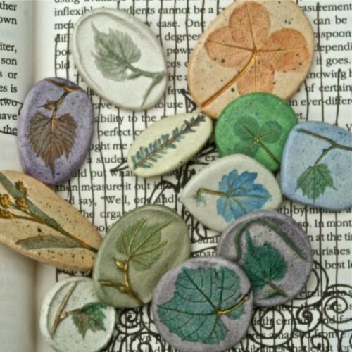 Handmade Four Leaf Clover Pin