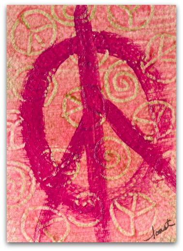 ACEO Giclee Print,  Peace