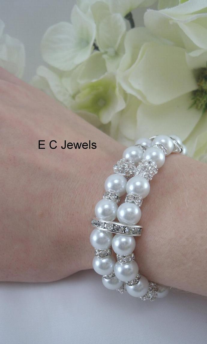 Elegance, Rhinestone and Pearls
