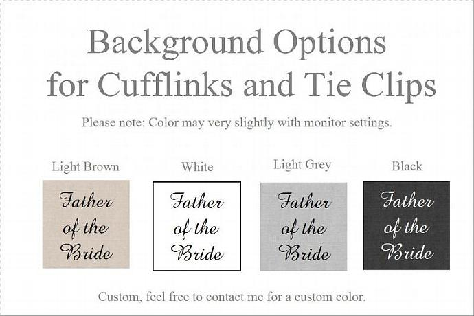 I will always be your little girl, Father of the Bride - Cufflinks