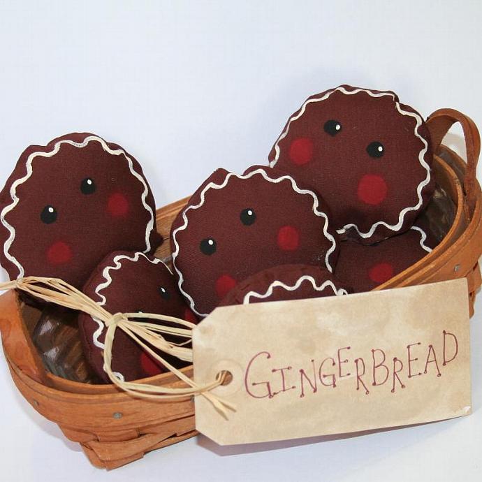 Gingerbread Man Bowl Fillers
