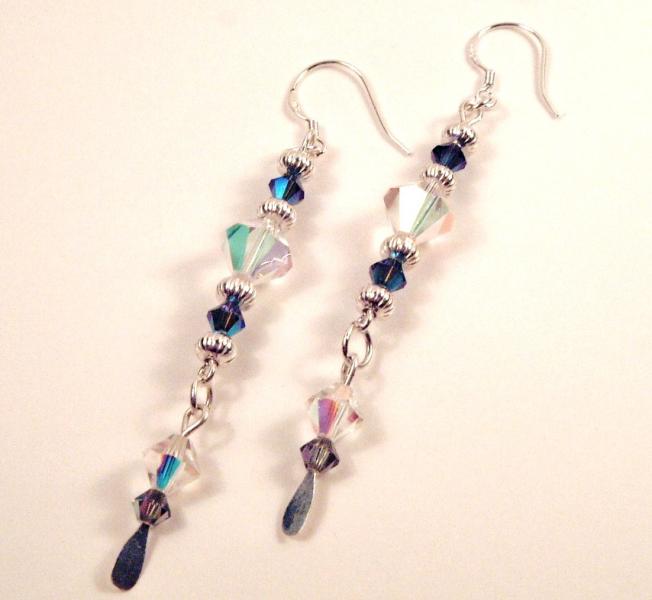Aurora Blue Earrings