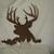 Buck 12 Deer Head Metal Wildlife Wall Art Silhouette