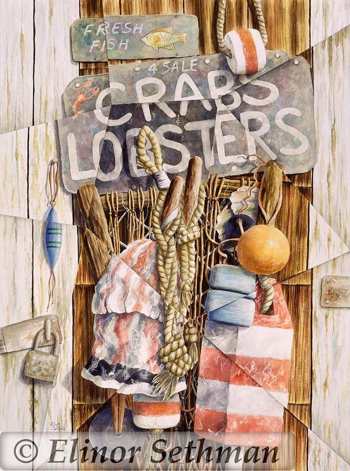 Crabs And Lobsters 4 Sale