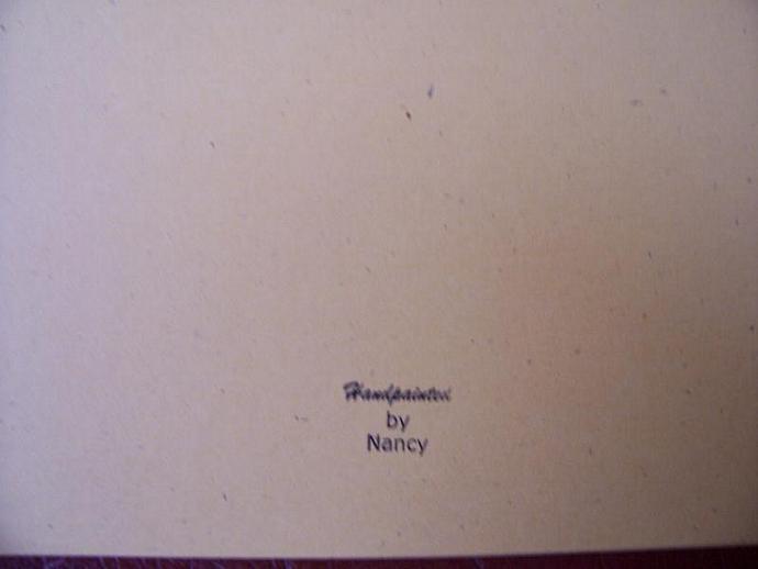 Fish Note Card says HI