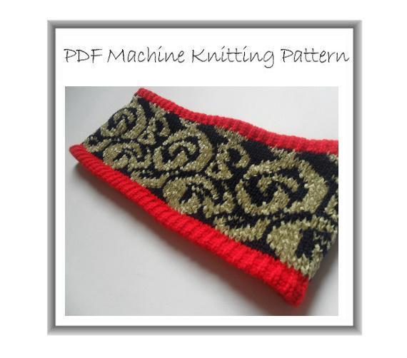 Machine Knit Headband Pattern Knitting Pdf Beaknitting