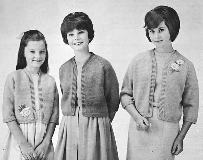 Women's or Girl's Knitted Raglan Sleeve jacket Pattern PDF Beehive knit sweater