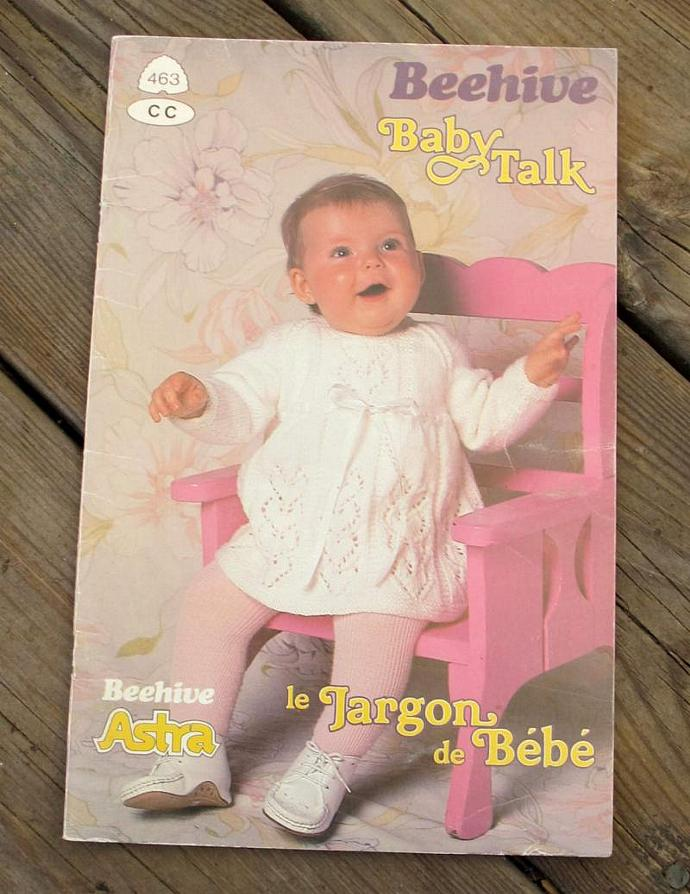 Patons Baby Talk Knitting Patterns By Sandrascardandcraftshop On