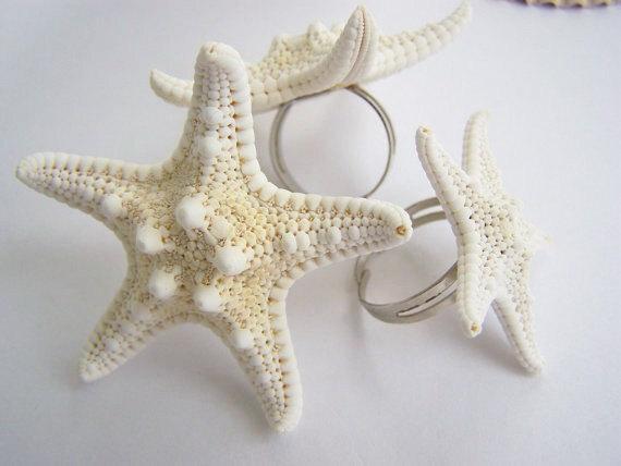 Starfish Cocktail Ring